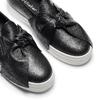 Sneakers in pelle con fiocco north-star, nero, 514-6264 - 19