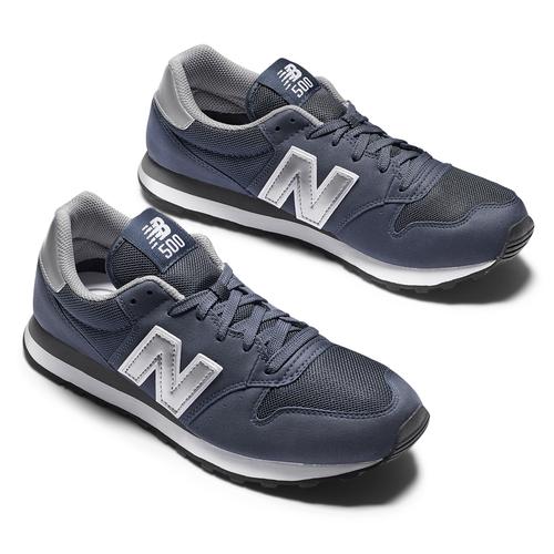 New Balance 500 new-balance, blu, 809-9400 - 19