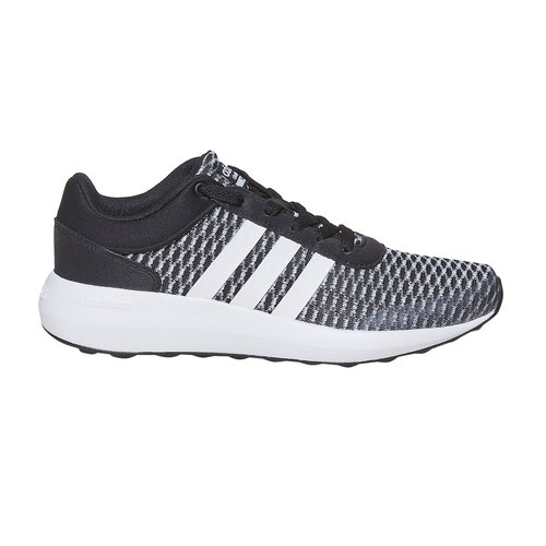 Sneakers sportive da donna adidas, nero, 509-6173 - 15