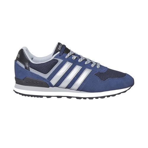 Sneakers in pelle da uomo adidas, blu, 803-6193 - 15