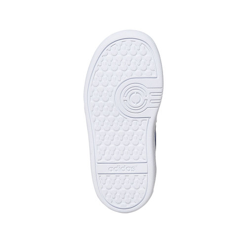 Sneakers da bambino con chiusure a velcro adidas, blu, 101-9254 - 26