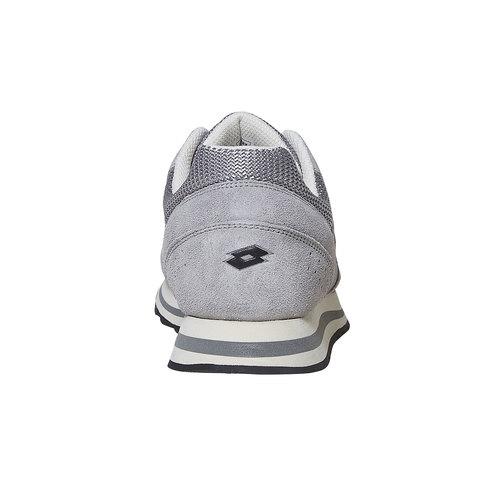 Sneakers in pelle da uomo lotto, grigio, 803-2147 - 17