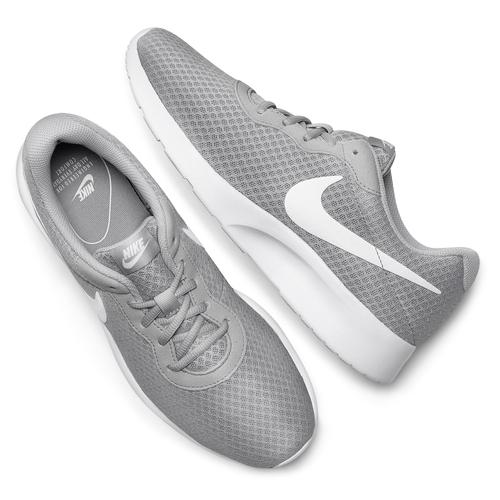 Sneakers grigie in stile sportivo nike, grigio, 809-2557 - 19