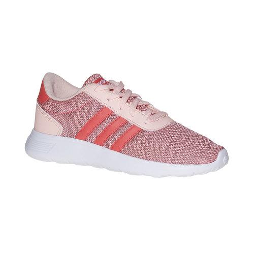 Sneakers rosa da bambina adidas, rosso, 409-5335 - 13