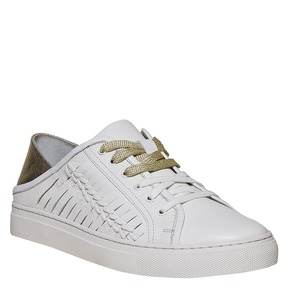 Sneakers da donna in pelle north-star, bianco, 544-1210 - 13
