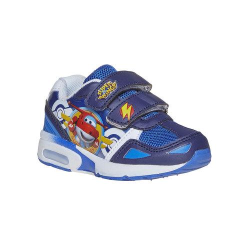 Sneakers blu da bambino, blu, 219-9176 - 13
