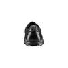 Stringate in vera pelle bata, nero, 844-6381 - 15