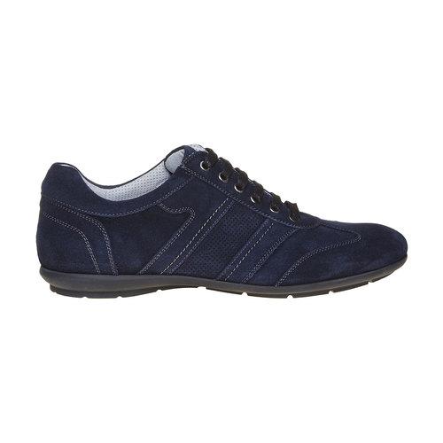 Sneakers in pelle da uomo bata, blu, 843-9381 - 15