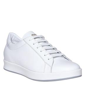 Sneakers bianche di pelle flexible, bianco, 844-1705 - 13