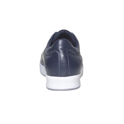 Sneakers da uomo in pelle flexible, blu, 844-9705 - 17