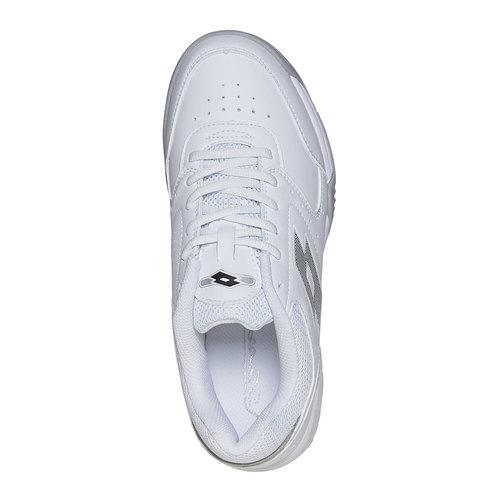 Sneakers bianche da donna lotto, bianco, 501-1123 - 19