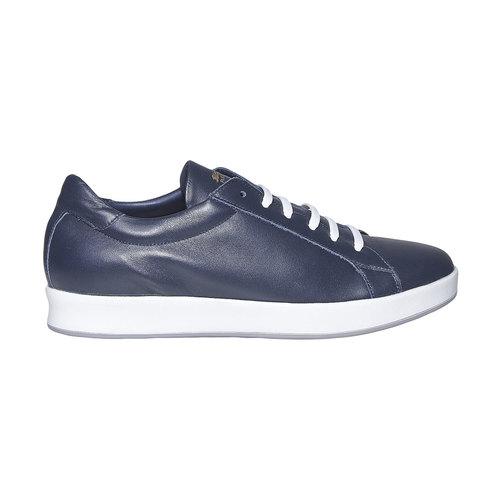Sneakers da uomo in pelle flexible, blu, 844-9705 - 15