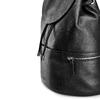 Zainetto in pelle bata, nero, 964-6259 - 15