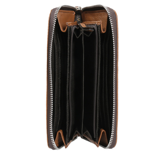 Portafoglio da donna in pelle bata, marrone, 944-3178 - 15