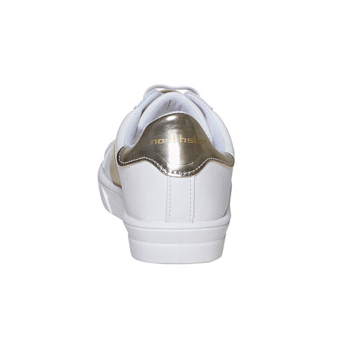 Sneakers con cinturino sul collo del piede north-star, bianco, 541-1276 - 17