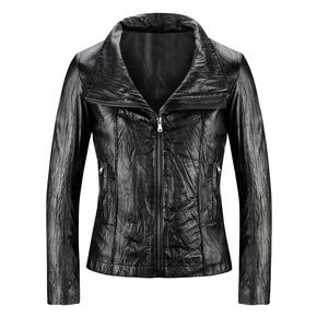 Giacca in pelle da donna bata, nero, 974-6116 - 13