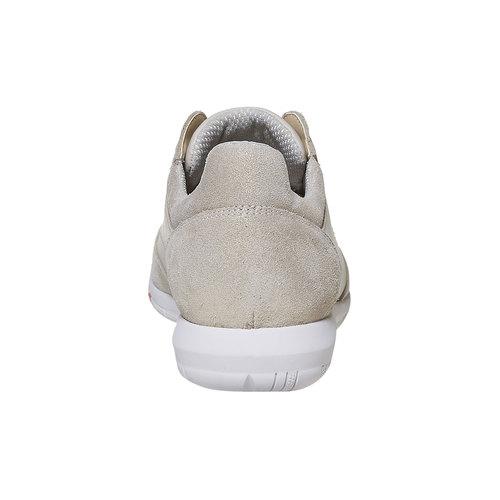 Sneakers da donna in pelle flexible, giallo, 514-8271 - 17