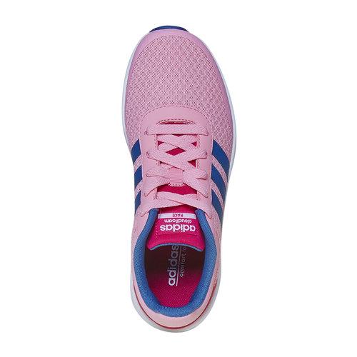 Sneakers sportive rosa da bambina adidas, rosa, 409-5172 - 19