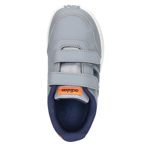 Sneakers da bambino con chiusure a velcro adidas, grigio, 109-2163 - 19
