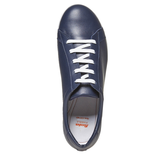 Sneakers da donna in pelle flexible, blu, 524-9597 - 19