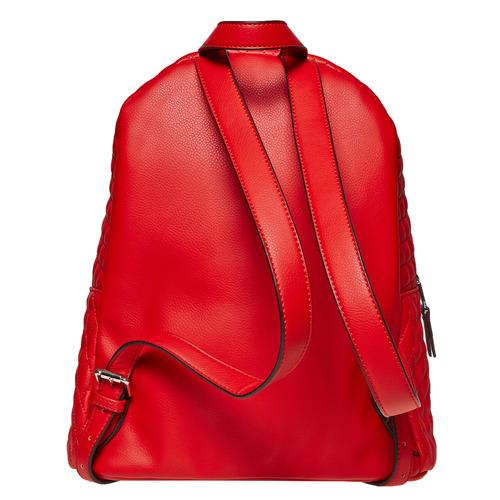 Zaino rosso con cuciture bata, rosso, 961-5923 - 26