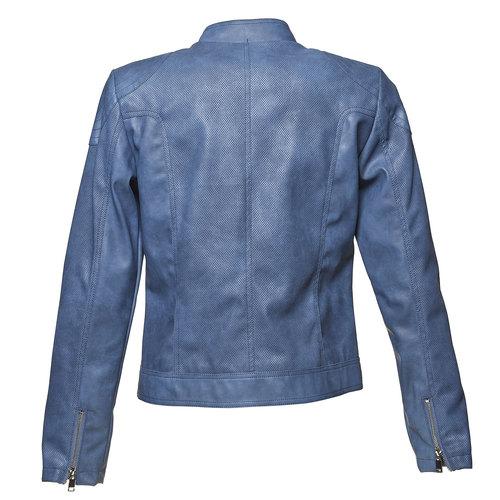 Giacca da donna blu con trafori bata, viola, 971-9113 - 26