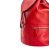 Zainetto in pelle bata, rosso, 964-5259 - 15