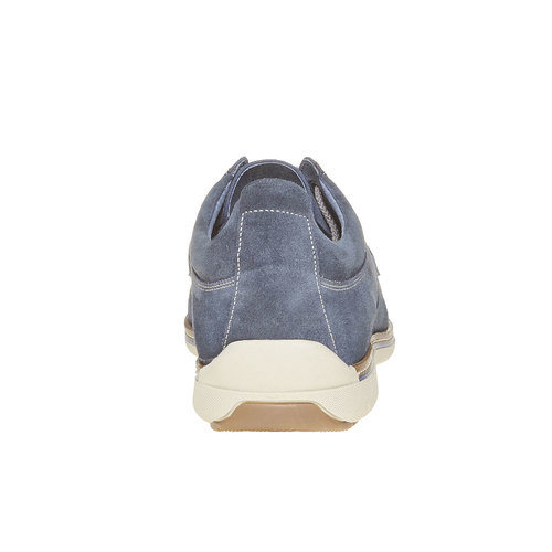Sneakers informali da uomo bata, blu, 843-9297 - 17