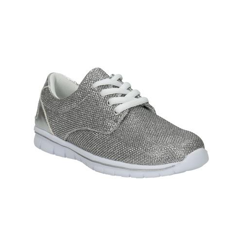 Sneakers argentate da bambina mini-b, grigio, 329-2264 - 13