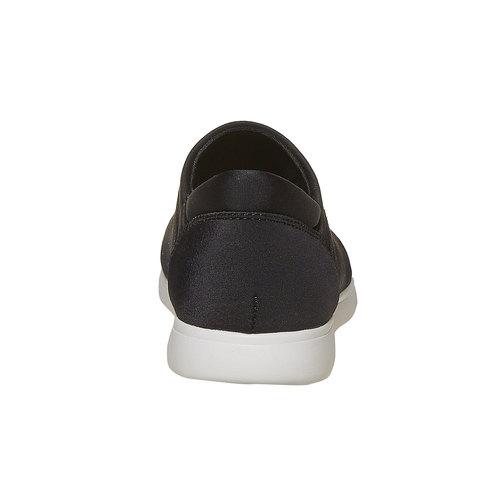 Slip-on da donna, nero, 519-6335 - 17