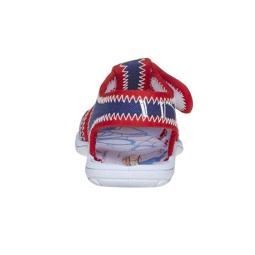 Sandali da bambino con stampa spiderman, blu, 279-9146 - 17