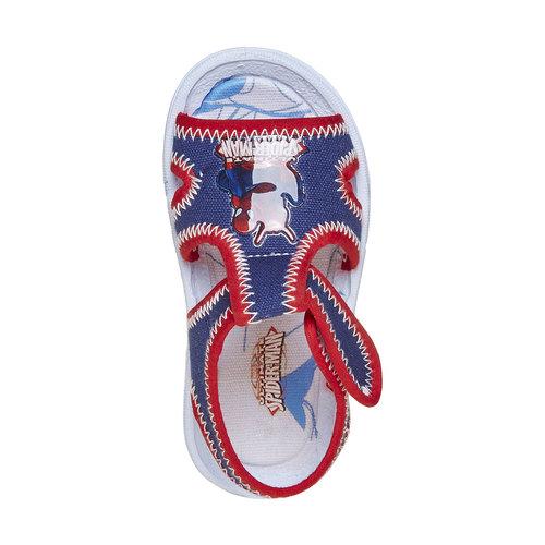 Sandali da bambino con stampa spiderman, blu, 279-9146 - 19