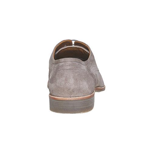 Scarpe basse di pelle da uomo bata, beige, 823-2564 - 17