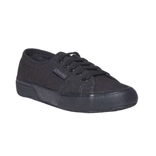 Sneakers nere da donna superga, nero, 589-6687 - 13
