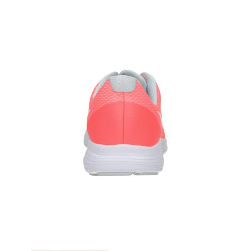 Sneakers rosa da ragazza nike, rosso, 409-5149 - 17