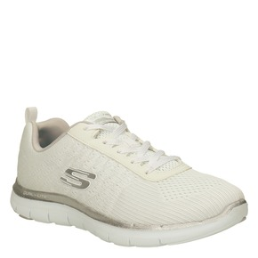Sneakers con memory foam skechers, bianco, 509-1965 - 13