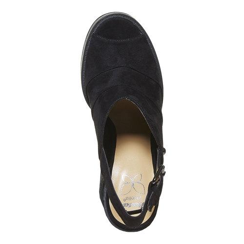 Sandali neri da donna, nero, 769-6252 - 19