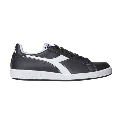 Sneakers informali da uomo diadora, nero, 801-6179 - 15