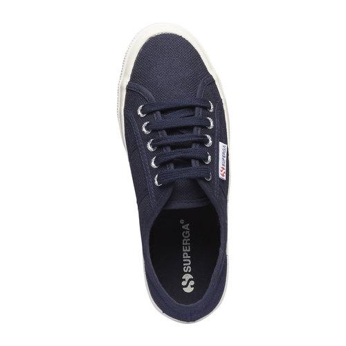 Sneakers di tela superga, blu, 589-9187 - 19