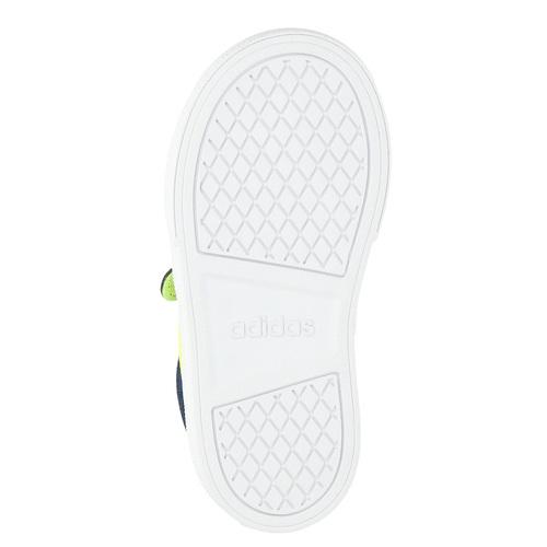 Sneakers da ragazzo con chiusure a velcro adidas, blu, 189-8119 - 26