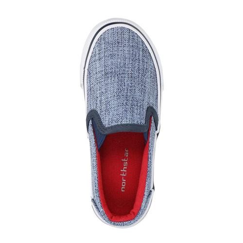 Scarpe da bambino in stile Slip-on, blu, 219-9160 - 19