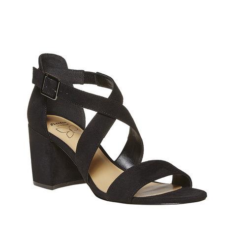 Sandali neri da donna insolia, nero, 769-6213 - 13