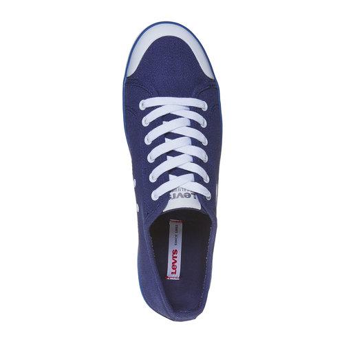 Sneakers casual da uomo levis, blu, 849-9589 - 19