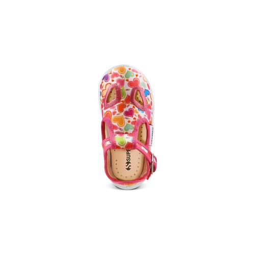 Sandali stampati Superga superga, rosa, 169-5132 - 17