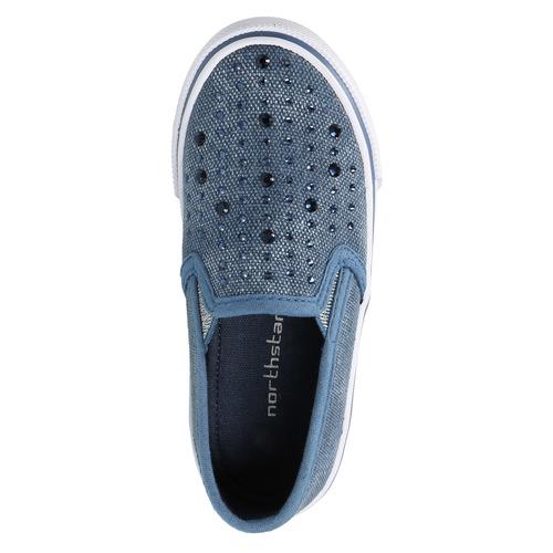 Scarpe da bambina in stile Slip-on north-star, blu, 229-9193 - 19