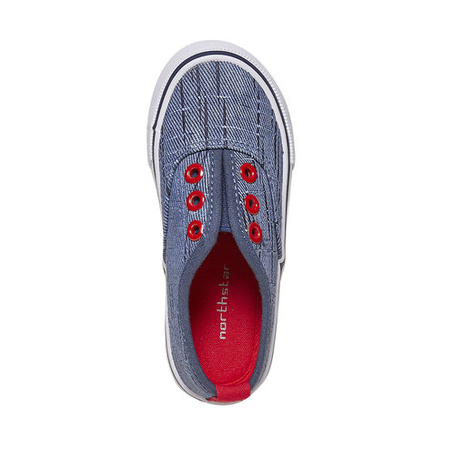 Slip-on da bambino north-star, blu, 219-9154 - 19