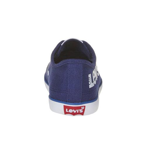 Sneakers casual da uomo levis, blu, 849-9589 - 17