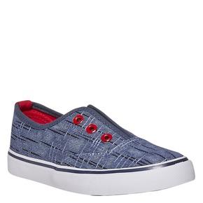 Scarpe da bambino in stile Slip-on north-star, blu, 319-9154 - 13