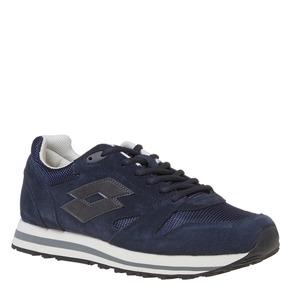 Sneakers da uomo in pelle lotto, blu, 803-9147 - 13