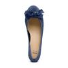 Ballerine con tacco bata, blu, 523-9420 - 17